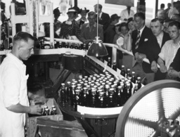 Coca-Cola stand at the exhibition 'Productive People' in Dusseldorf, 1938