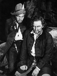 Alexander Golling and Gustav Knuth in 'The Robbers', 1936
