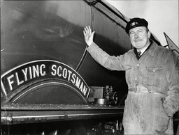 Alan Pegler A Man Obsessed With Trains Who Has Bought The Flying Scotsman.