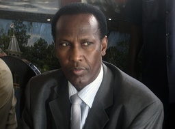 Somalia s PM Ali Mohamed Gedi attends a meeting with members of Somalia s divided parliament in Mogadishu