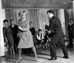 April Olrich And Peter Nugent Dancing The Bossa Nova.