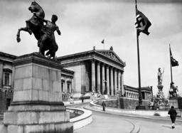 Parliament in Vienna, 1938