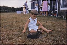 John-John with Puppy