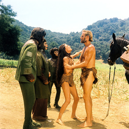 1968 - Planet of the Apes  - Movie Set
