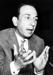 Jose Ferrer testifying before the House Unamerican Activites Committee, 1951