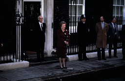 Baroness Thatcher and Sir Denis Thatcher