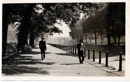 Rotten Row Hyde Park London Pictured In 1939 During World War Ii.