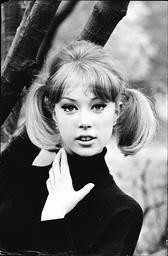 Model Pattie Boyd.