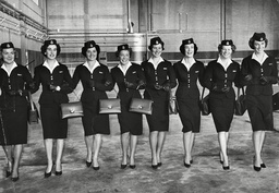 The Boac Air Hostesses Who Will Fly The Queen And Prince Philip On The Royal Flight To Fiji And Bring Them Back From Australia For Names See Versions