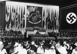 Goebbels auf Verlegerkongreß Berlin 1938 - Goebbels at Publishing Congress / 1938 -