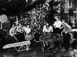 SWISS FAMILY ROBINSON, from left: Martin Milner, Eric Olson, Helen Hunt, Cameron Mitchell, Pat Delan