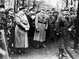 Ernst Rohm, Viktor Lutze and Wilhelm Schepmann, 1934