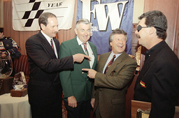 Watchf Associated Press Sports Auto Racing New York United States APHS35639 RACE CAR DRIVERS
