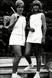 Tennis Player Annette Du Plooy (left) And Maryna Godwin At Wimbledon Annette Van Zyl (born September 25 1943 Pretoria) Sometimes Known By Her Married Name As Annette Du Plooy Is A Former South African Tennis Player. She Was Ranked In The Top Ten Fema