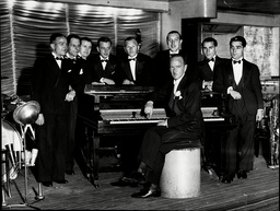 Charlie Kunz And The Casani Club Orchestra. (died 3/58) Popular Musician During The British Dance Band Era.