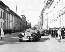 Drive of Adolf Hitler to the Reichstag on 06/10/1939