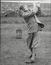 Albert Tingey Jr At Troon For The Open Championship Golfer.