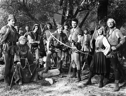 1946 - The Bandit of Sherwood Forest - Movie Set