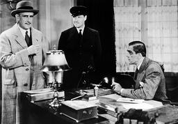1932 - Behind the Mask - Movie Set