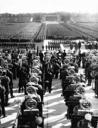 The Nuremberg Rally in Nuremberg, 1936