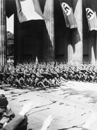 Parade der Legion Condor 1939 - Parade of Condor Legion / Photo / 1939 -