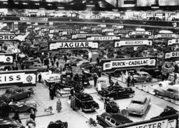 Automobilausstellung London 1950 / Foto - Motor show London 1950 / Photo -