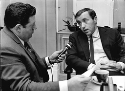 Monty Morlyn With Sir David Frost.