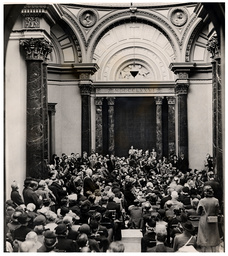 Office Workers Are Pictured Listening To A Lunchtime Concert By Pianist Myra Hess At The National Gallery In October 1939. The Paintings Had Been Removed Because Of World War Ii.