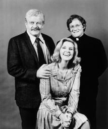KATE MCSHANE, from left: Sean McClory, Anne Meara, Charles Haid, 1975.