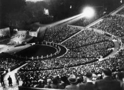 Berlin, Waldbühne, Foto 1935 - Berlin / Waldbühne / Photo / 1935 -
