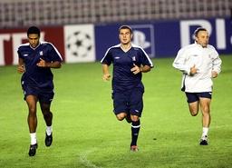 Soccer - UEFA Champions League - Group G - Sparta Prague v Chelsea - Chelsea Training