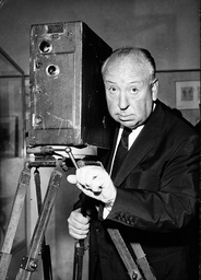 Film maker Alfred Hitchcock 1899 - 1980