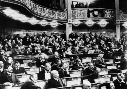 Weimarer Nationalvers. /1919/ Foto. - Weimar National Assembly / Photo / 1919 - Ouverture Assemblée nat. / 1919 / Photo