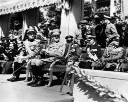 Paul of Yugoslavia and Adolf Hitler, 1939
