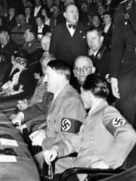 Hitler in the movie theater