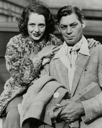 Johnny Weissmuller Tarzan Actor With Wife Actress Lupe Velez 1934.