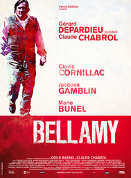INSPECTOR BELLAMY, (aka BELLAMY), French poster art, Gerard Depardieu, 2009. ©IFC Films/Courtesy Eve