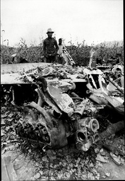 Angola Civil War 1976 South African Reconnaissance Plane Shot Down In A Maize Field In Luanda The Angolan Civil War Was A Major Civil Conflict In The African State Of Angola Beginning In 1975 And Continuing With Some Interludes Until 2002. The War Be