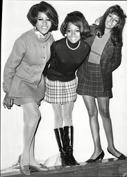 Diana Ross Cindy Birdsong And Mary Wilson Of Pop Group The Supremes 1968.