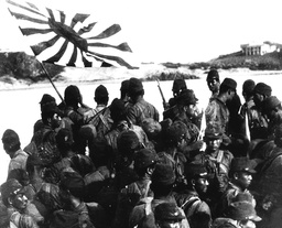 THE JAPANESE TAKE POSSESSION OF SIVATOW DURING WORLD WAR II