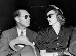 James Cromwell and Doris Duke, 1938