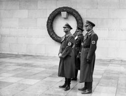 Rudolf Hess, Ernst Kaltenbrunner and Leitgen, 1938