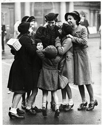 War Britain - Evacuation - 1939 ..... All Together Again.