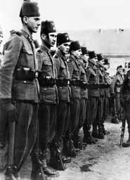 Bosnian soldiers of the weapon SS, 1943