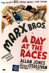 1937 - A Day at the Races - Movie Set