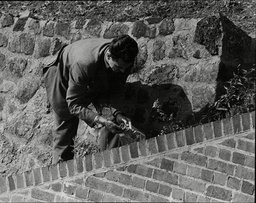 Law Crime Robbery 1963 'great Train Robbery' Showing Sgt Milner Of Cid At Bridego Bridge Searching For Clues The Great Train Robbery Is The Name Given To A 2.6 Million Train Robbery (the Equivalent Of Around 40 Million Today) Committed On Thursday