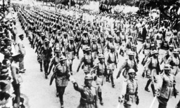 Military parade on the Brazilian Independence Day, 1936