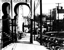 Vicksburg/Mississippi /Straßenbild/Foto - Vicksburg/Mississippi / Photo / 1936 -