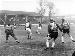 Hibernian Fc Footballers Training Today.