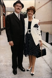 George Cole And His Wife